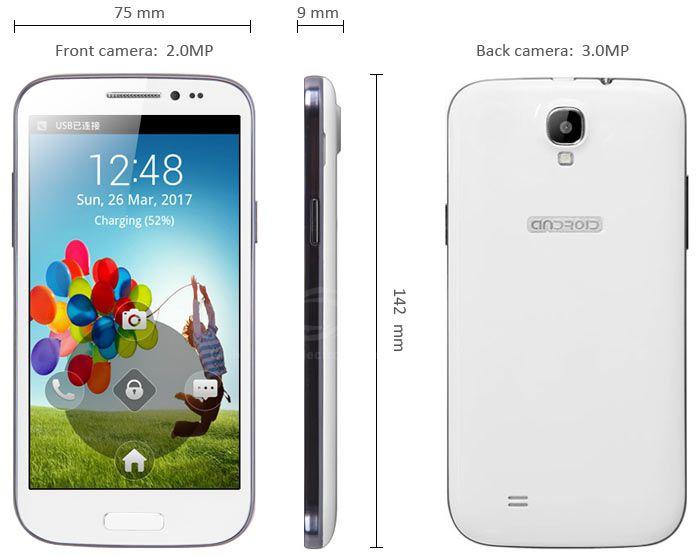 portable tactile android 4 2 gt9500 5 pouces. Black Bedroom Furniture Sets. Home Design Ideas